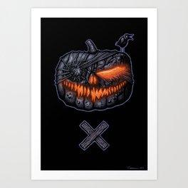PUMPKINHEAD Art Print