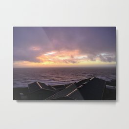 Barmouth, Wales Sunset Metal Print