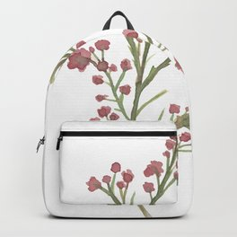 Little red flowers Backpack