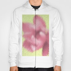 Abstract pink flowers Hoody