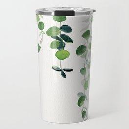 Eucalyptus Watercolor 2  Travel Mug