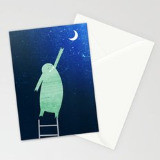 Monster Moon Stationery Cards