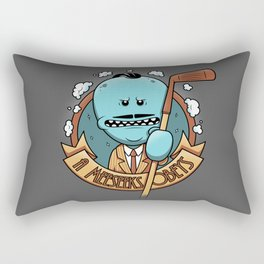 A Meeseeks Obeys Rectangular Pillow