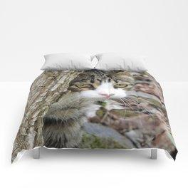 My Hunting Cat Comforters