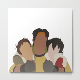 Primary Paladins - Voltron Legendary Defender Metal Print