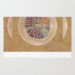 Tribal Maps - Magical Mazes #03 Rug