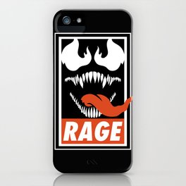 Rage. iPhone Case