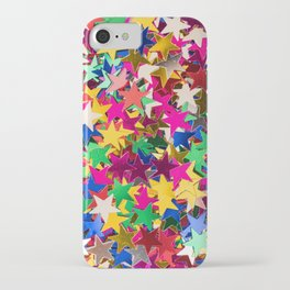 Glitter Stars Sequins iPhone Case