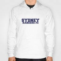 college Hoodies featuring College - Blue by Sydney Rangers FC