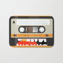 The cassette tape golden tooth Bath Mat