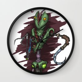 Squirmsy Wall Clock