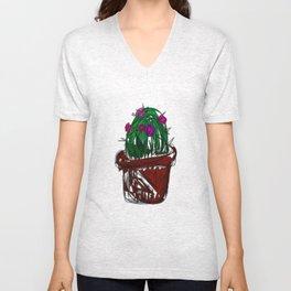 Jan the Cactus Unisex V-Neck