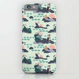 Adventure Shibas iPhone Case