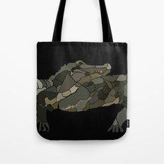 Mellifluous Crocodiles Tote Bag