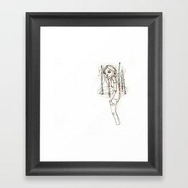 JANE (5) Framed Art Print