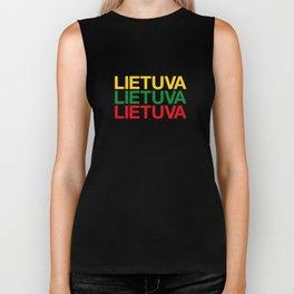 LITHUANIA Biker Tank