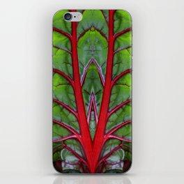 Swiss Chard - Leaf of Life iPhone Skin
