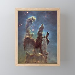 The Pillars of Creation Framed Mini Art Print