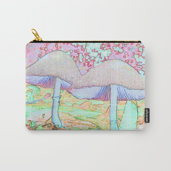 Fairy Houses Carry-All Pouch
