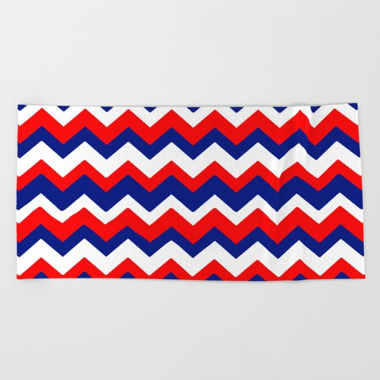 Red, White and Blue, 2016 Beach Towel