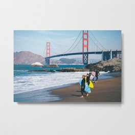 California - Exemplified Metal Print