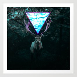 Deer's Eye Art Print