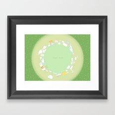 Planet Seven Framed Art Print