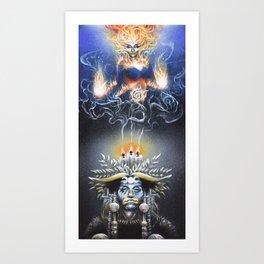 Ignite the Fire Art Print
