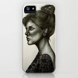 Lady Lace iPhone Case