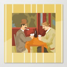 Card players by Cezanne Canvas Print