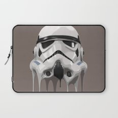 Stormtrooper Melting Laptop Sleeve