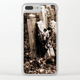 Overgrown Graves Clear iPhone Case