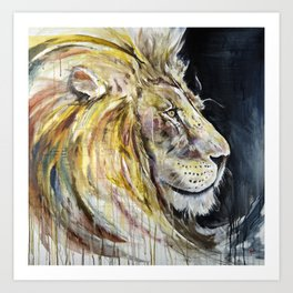Uneasy Lies The Head That Wears the Crown Art Print
