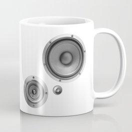 Subwoofer Speaker on white Coffee Mug