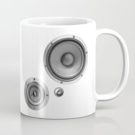 Subwoofer Speaker on white Coffee Mug