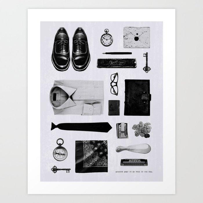 Traveler Art Print