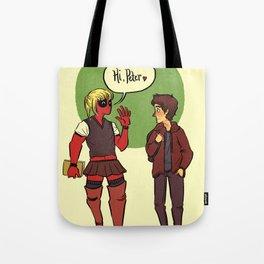 Hi, Peter Tote Bag