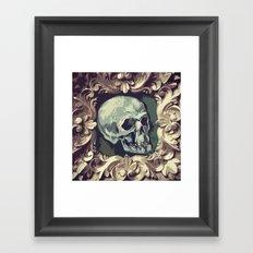 A Fine Skull Framed Art Print