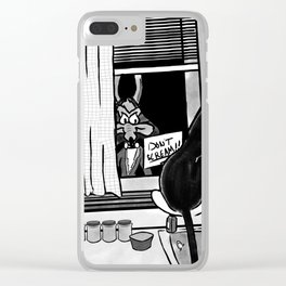 Shazam x Looney Tune Clear iPhone Case