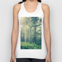 fog Tank Tops featuring Inner Peace by Olivia Joy StClaire