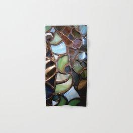 Stained Glass Enamel Hand & Bath Towel
