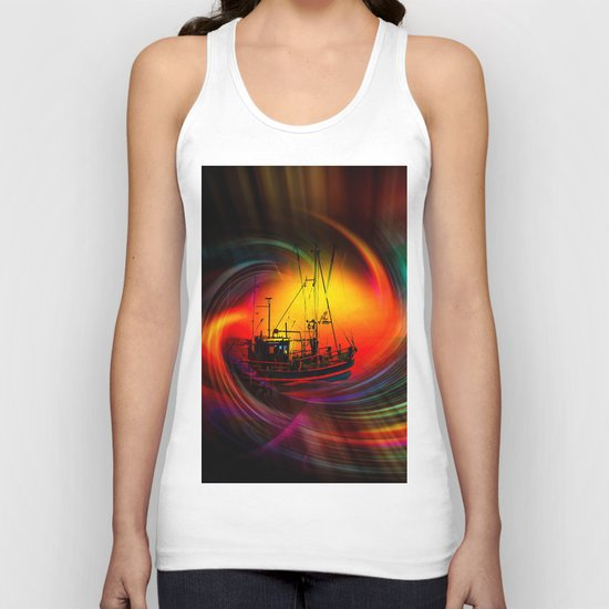 Time Tunnel 3 Unisex Tank Top