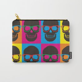 Colorfull Skulls Carry-All Pouch