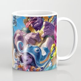 Pool Party Mundo Lulu Zac Draven Splash Art Wallpaper Background Official Art Artwork Coffee Mug