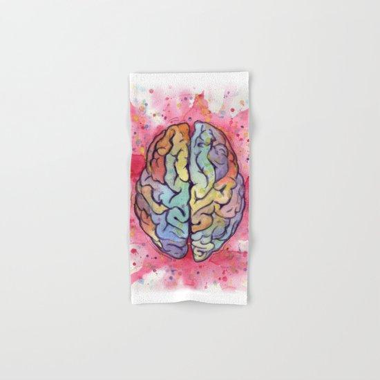 brain stuff Hand & Bath Towel
