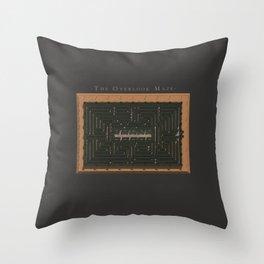 The Overlook Maze Throw Pillow