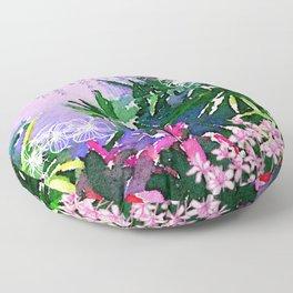 Singapore Summer Floor Pillow