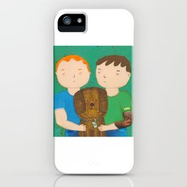 Dean, Steve and Luci iPhone Case