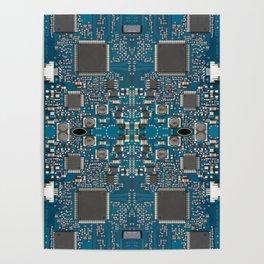 Circuit board Poster