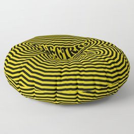 Electric Feel (trippy) Floor Pillow